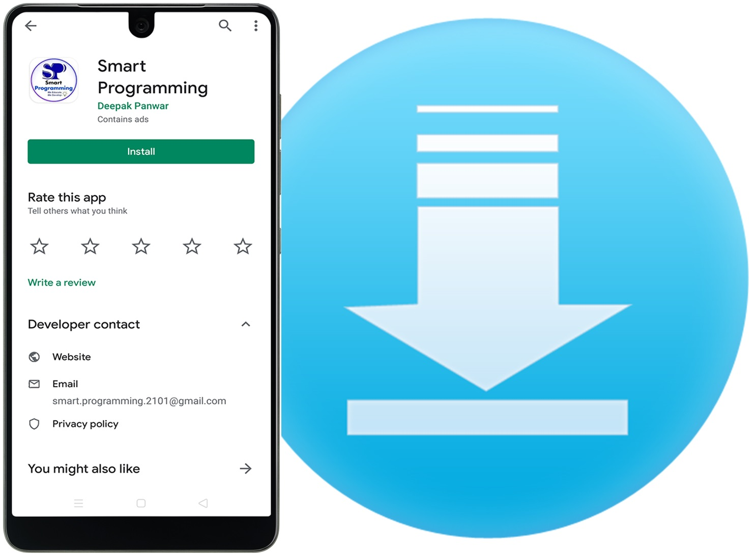 Download Smart Programming Mobile Application